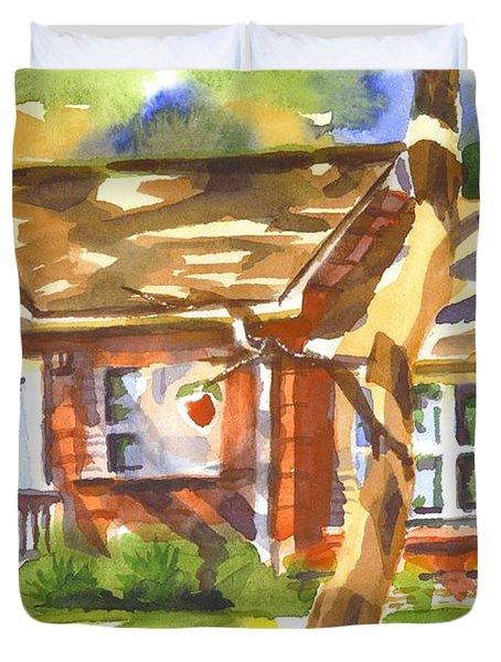 Adams Home Duvet Cover by Kip DeVore