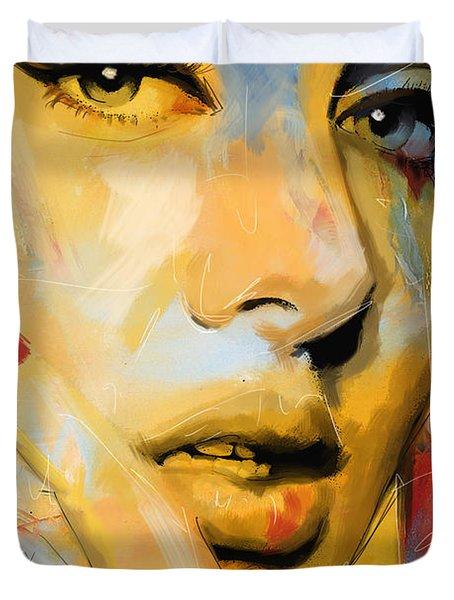 Adele Duvet Cover by Corporate Art Task Force