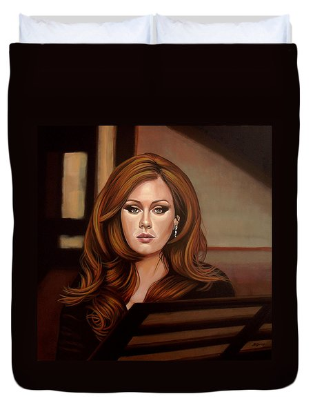 Adele Duvet Cover by Paul Meijering
