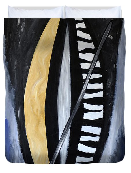 African Inspiration Duvet Cover by Eva-Maria Becker