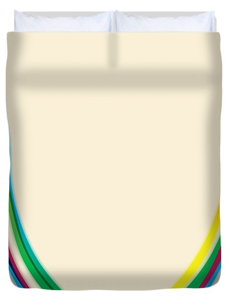 After Morris Louis 2 Duvet Cover by Gary Grayson