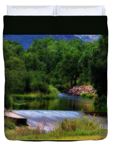After Rain Duvet Cover by Jon Burch Photography