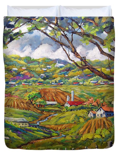 After The Rain By Prankearts Duvet Cover by Richard T Pranke