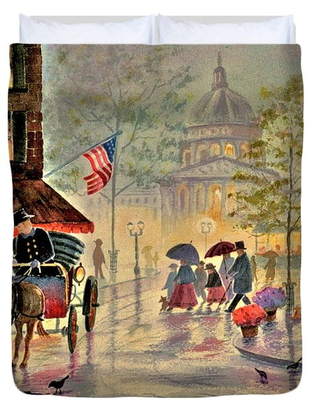 After The Rain Duvet Cover by Marilyn Smith