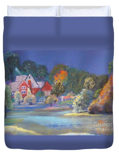 After The Rain  Duvet Cover by Sandra McClure