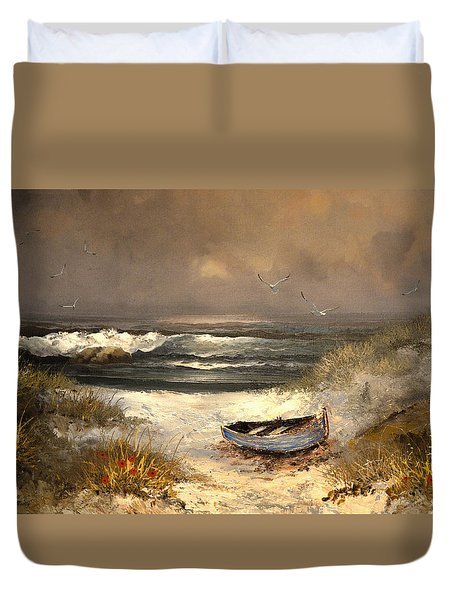 After The Storm Passed Duvet Cover by Sandi OReilly
