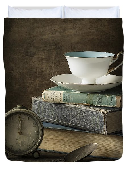 Afternoon Tea Duvet Cover by Amy Weiss