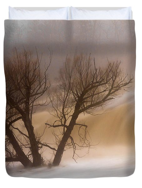 Against The Current Duvet Cover by Mary Amerman