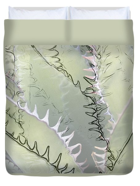 Agave Abstract Duvet Cover by Ben and Raisa Gertsberg