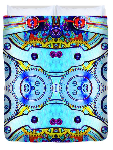 Age Of The Machine 20130605 Duvet Cover by Wingsdomain Art and Photography