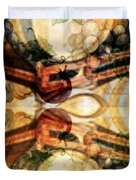 Aging Barrels Duvet Cover by PainterArtist FIN