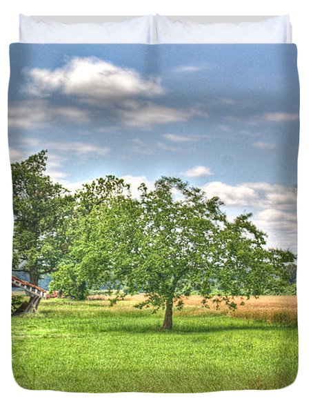 Air Conditioned Barn Duvet Cover by Douglas Barnett