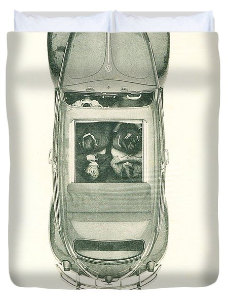 Air Cooled People Duvet Cover by Nomad Art And  Design