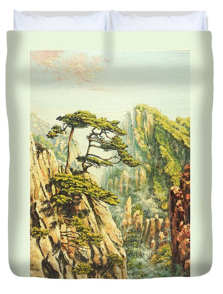 Airy Mountains Of China. Duvet Cover by Irina Sumanenkova
