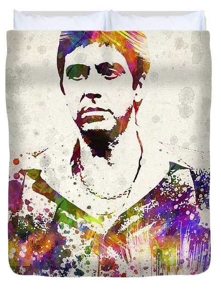 Al Pacino Duvet Cover by Aged Pixel