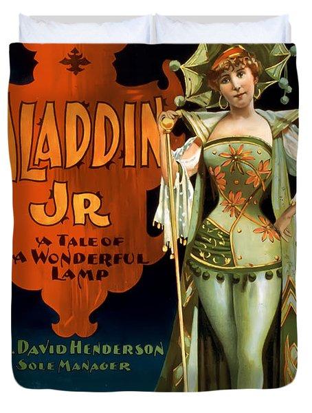 Aladdin Jr Jestor Duvet Cover by Terry Reynoldson