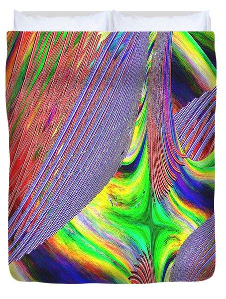 Albatross Dreamscape Duvet Cover by Tim Allen