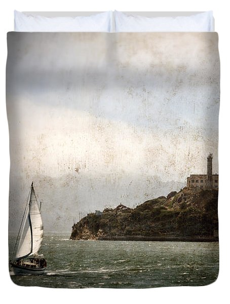 Alcatraz Island Duvet Cover by RicardMN Photography