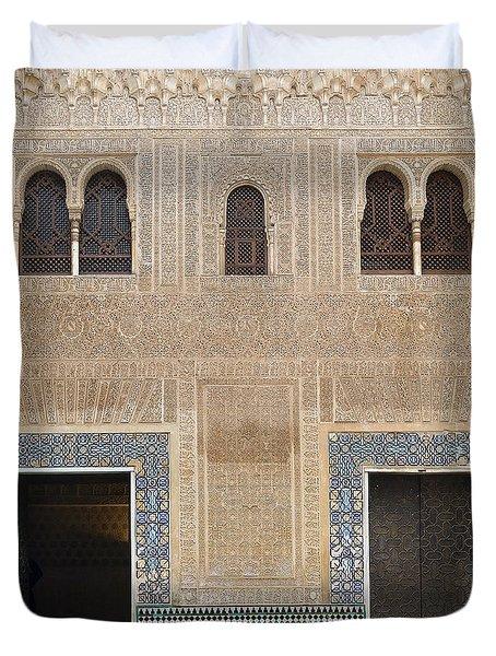 Alhambra Court Granada Duvet Cover by Rudi Prott