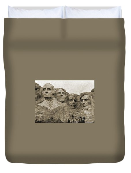 All American Duvet Cover by Nena Trapp