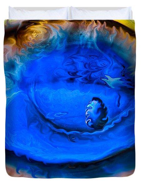 All Seeing Eye Duvet Cover by Omaste Witkowski