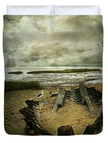 All That Remains Duvet Cover by Lianne Schneider