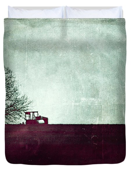 All That's Left Behind Duvet Cover by Trish Mistric