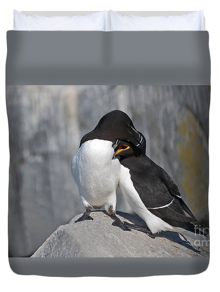 All You Need Is Love... Duvet Cover by Nina Stavlund