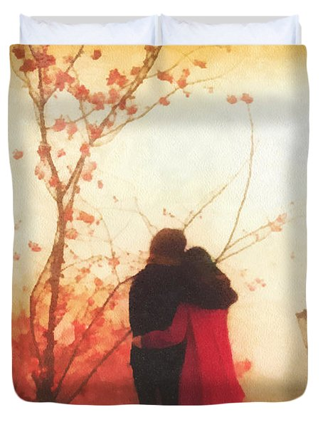 All You Need Duvet Cover by Mo T
