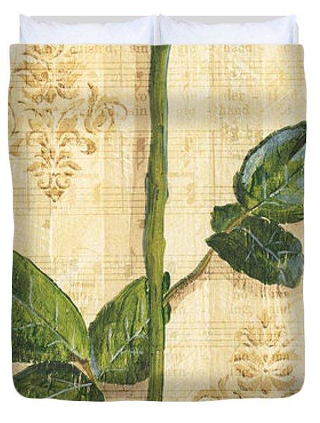 Allie's Rose Sonata 1 Duvet Cover by Debbie DeWitt