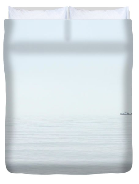 Almost Invisible Duvet Cover by Karol Livote