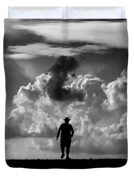 Alone Duvet Cover by Stelios Kleanthous