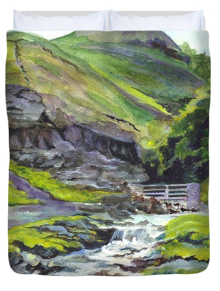 Along The Way Duvet Cover by Carol Wisniewski