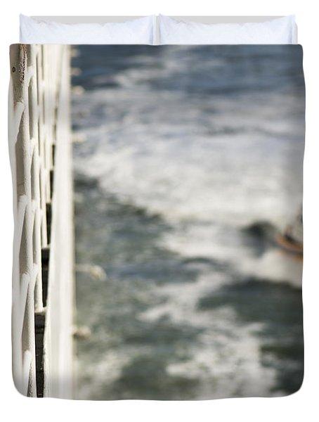 Alongside Duvet Cover by Anne Gilbert