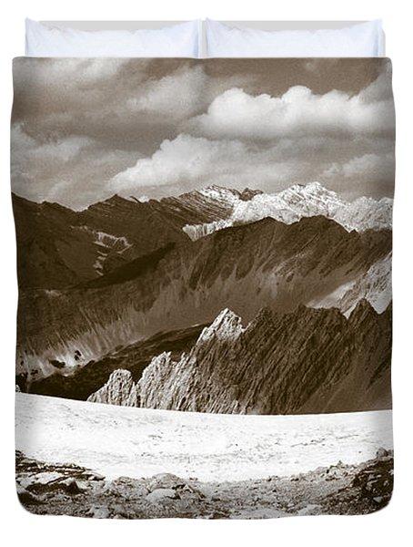 Alpine Landscape Duvet Cover by Frank Tschakert