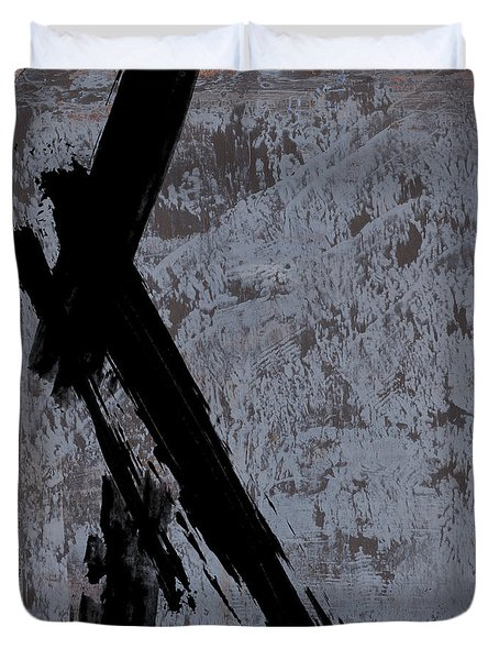 Alternative Edge I Duvet Cover by Paul Davenport