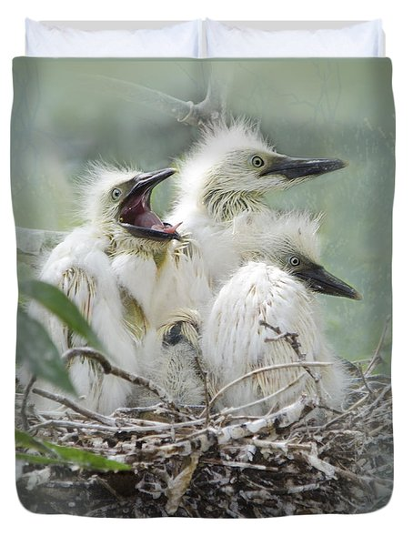 Always One In A Crowd Duvet Cover by Betty LaRue