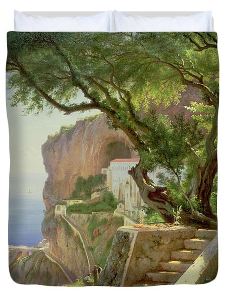 Amalfi Duvet Cover by Carl Frederick Aagaard