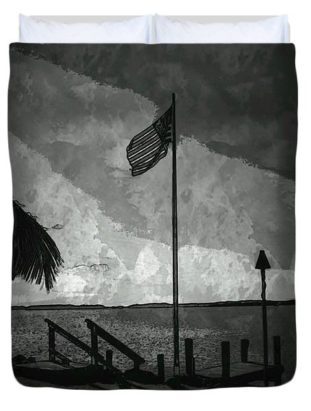 America all the Way 5 Duvet Cover by Rene Triay Photography