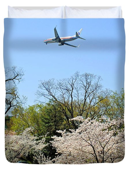 American Airlines Duvet Cover by Jost Houk