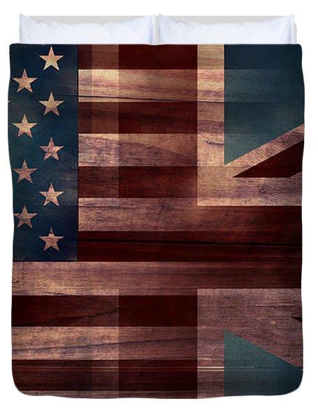 American Jack III Duvet Cover by April Moen