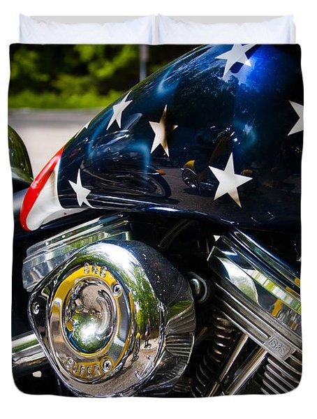 American Ride Duvet Cover by Adam Romanowicz