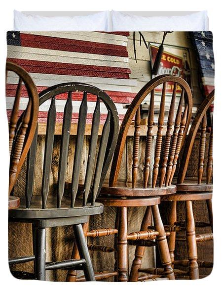 Americana Duvet Cover by Heather Applegate