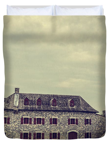 Fort Ticonderoga Duvet Cover by Edward Fielding