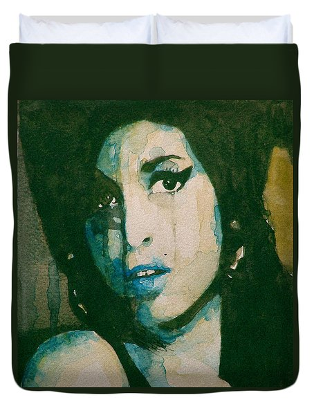 Amy Duvet Cover by Paul Lovering