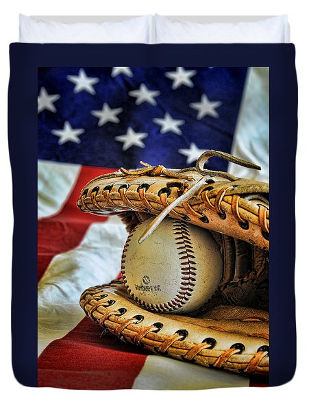 An American Tradition Duvet Cover by Kenny Francis