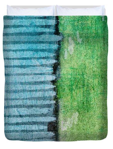 An Indirect Reflection Duvet Cover by Brett Pfister