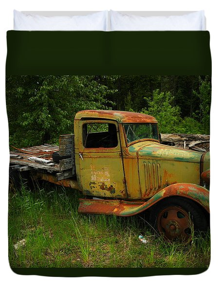 An Old Flatbed Duvet Cover by Jeff Swan