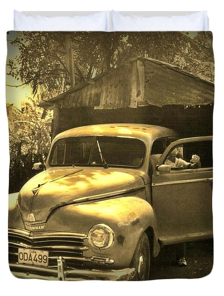 An Old Hidden Gem Duvet Cover by John Malone