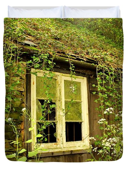 Ancient Cottage Duvet Cover by Rene Triay Photography